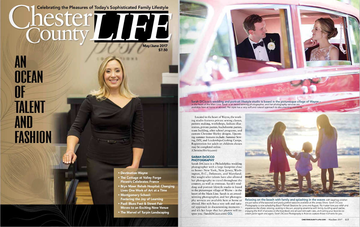 Chester County Life Magazine - Destination Wayne Pa & Shore
