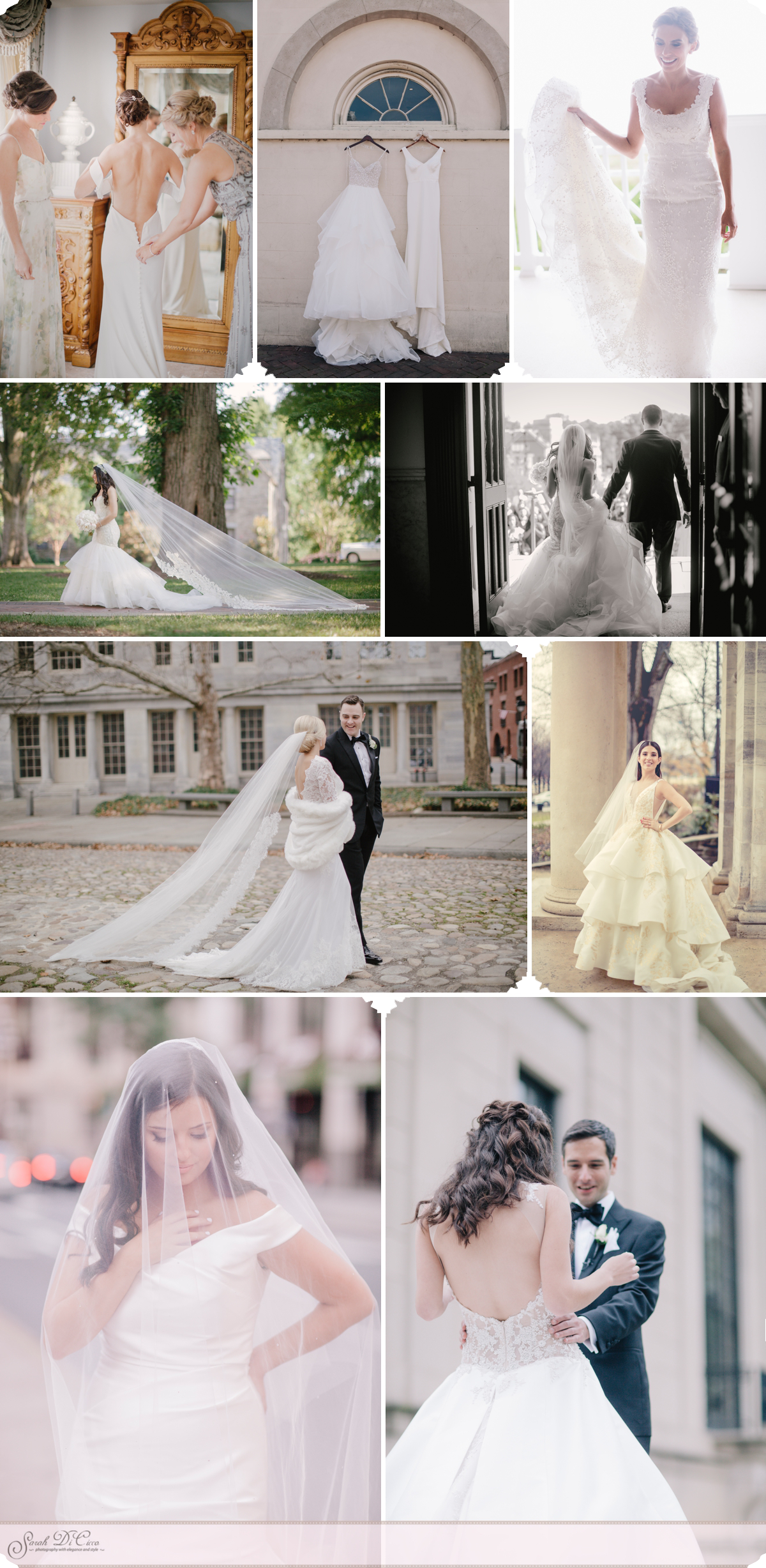 Dresses and Veils Sarah DiCicco Photography - Year in Review 2018