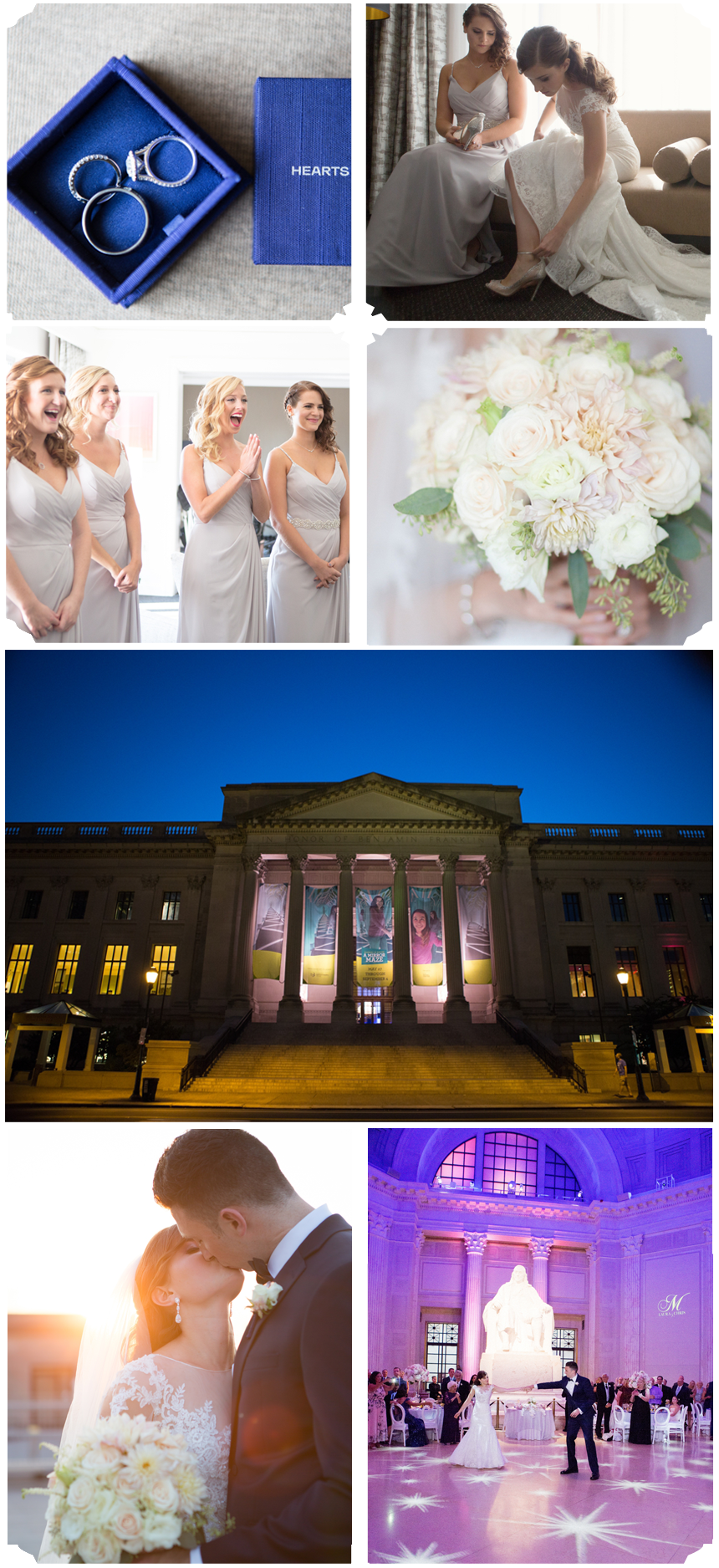 Franklin Institute Philadelphia Wedding Brittany & Tim