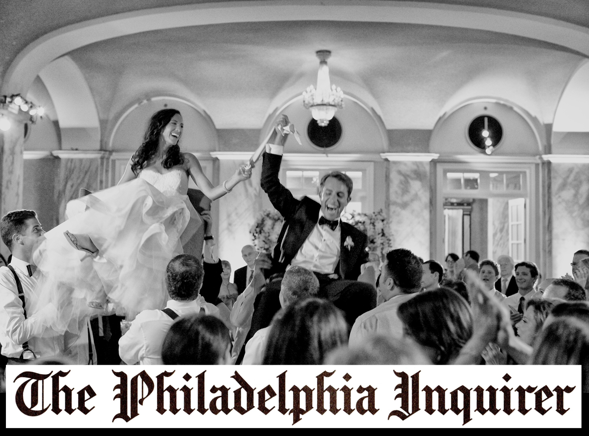Philadelphia Inquirer Bushman & Sommer Wedding