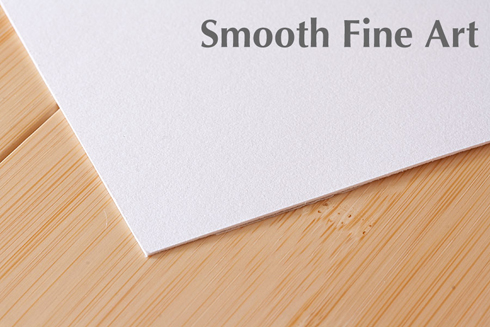 Smooth Fine Art Paper Printing